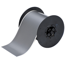 For labelling stainless steel and smooth surfaces. Applies best to very smooth surfaces and ideal for mounting to rigid panels.  B-569 adheres to smooth surfaces with the same durability as B-595.