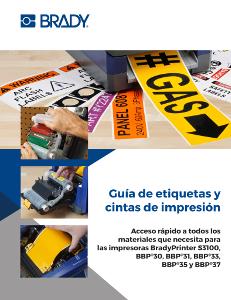 Guía de materiales para impresoras Serie B30 y B33