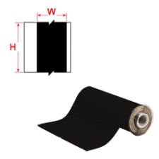 BBP85 Tape - Vinyl 200 mm Black-B85-200x15M-595-BK