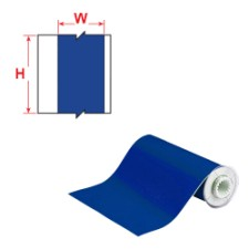 BBP85 Tape - Vinyl 150 mm Blue-B85-150x15M-595-BL