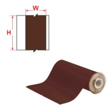 BBP85 Tape - Vinyl 100 mm Brown-B85-100x15M-595-BR