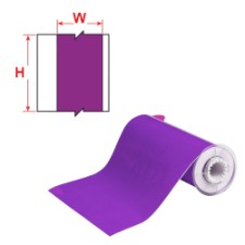 BBP85 Tape - Vinyl 200 mm Purple-B85-200x15M-595-PL