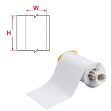 BBP85 Tape B-7569 100mm White-B85-100x15M-7569WT