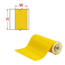 BBP85 Tape - B-569 100 mm  Yellow-B85-100x15M-569-YL