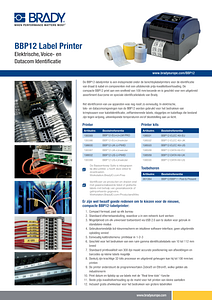 BBP12 Sell Sheet Powercom - Dutch