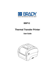 BBP12 Label Printer User Manual – English