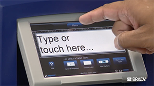 How-to create a label on your BBP31 printer