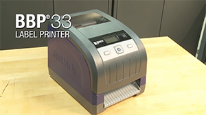 Overview video for the BBP33 Label Printer