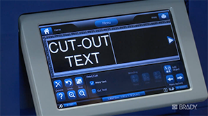 How to cut out text and objects for you BBP37 Printer