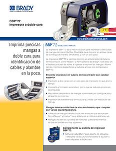 Impresora BBP72 a doble cara