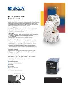 Impresora BBP81