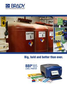 BBP®85 Sign and Label Printer Brochure