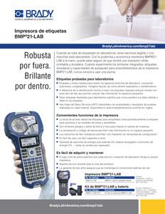 Hoja informativa e la impresora BMP21-Lab