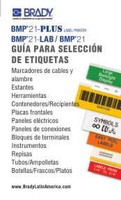 Guía para selección de materiales de etiqueta para BMP21-PLUS