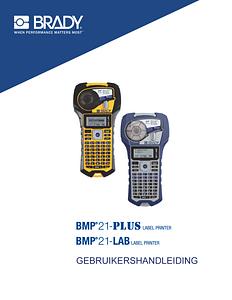 BMP21-PLUS User Guide - Dutch