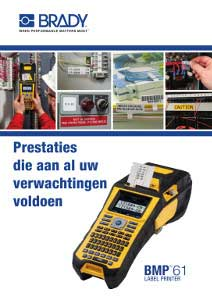 BMP™61 Label Printer brochure - Dutch