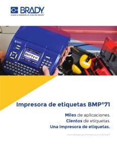 Folleto de la BMP71