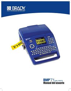 Manual de la impresora BMP71