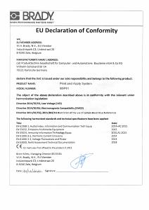 BSP61 CE Document - English