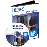 Brady Workstation Print Partner on CD for 1 user-BWS-PP-CD