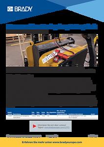 BatteryBlock Power Connector infosheet - German