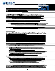 Garantía Brady360 de 1 año para impresoras portátiles