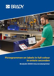 BradyJet J5000 Brochure - Dutch