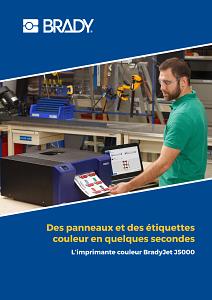 BradyJet J5000 Brochure - French