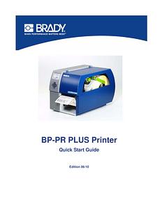 BP PR PLUS Quick Start Guide - English
