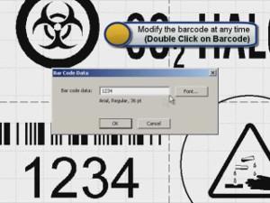 Brady MarkWare Software Barcode Creation