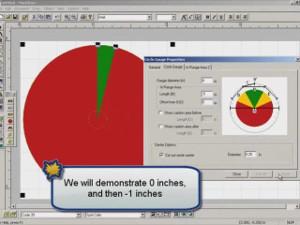 Brady MarkWare Software Circle Gauge