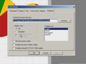 Brady MarkWare Software Cutting a Label Video