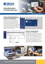 Brady Workstation CLP/GHS APP Sellsheet - Dutch