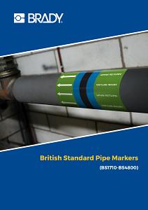 British Standard Pipemarking - English
