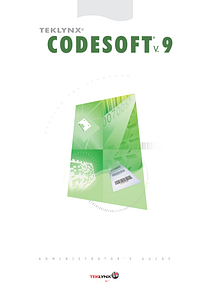 CodeSoft 9 Administrator's Guide - English