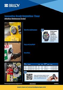 DOT Inspection Timer sellsheet - English