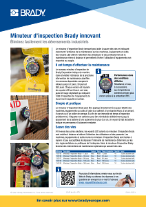 DOT Inspection Timer sellsheet - French