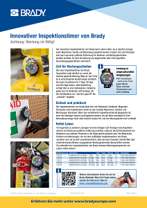 DOT Inspection Timer sellsheet - German