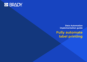 Fully automate label printing
