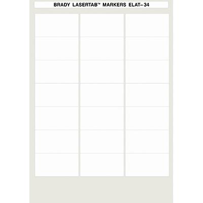 LaserTab Laser Printable Labels-ELAT-34-747W-1