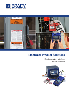 Electrical Products Solutions Brochure
