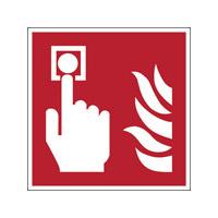 ISO Sicherheitskennzeichnung - Brandmelder-PIC F005-318x318-BIPVC-CRD/1