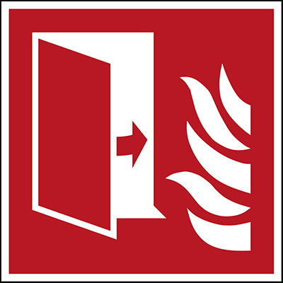 ISO Safety Sign - Fire protection door