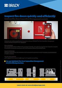 Fire Door Inspection information sheet