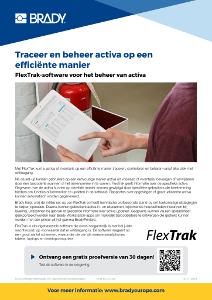 FlexTrak information sheet - Dutch