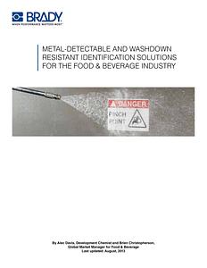 Food and Beverage Whitepaper - English