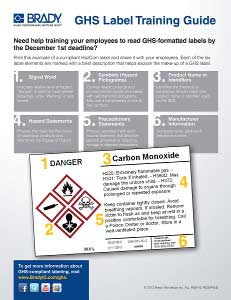 GHS Label Training Guide