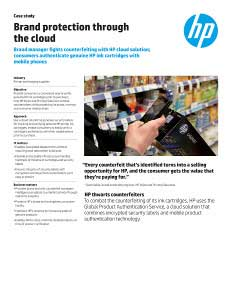 Case Study: Brand Protection Through the Cloud