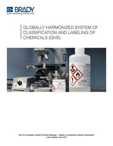 Free Whitepaper: Introduction to the Globally Harmonized System (GHS) for Classification and Labeling of Chemicals
