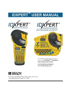 IDXPERT v2.0 User Manual (FCC class B model) - English